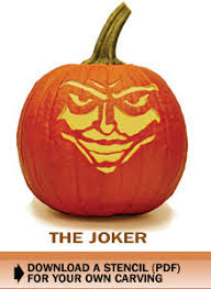 The Joker Pumpkin Stencil by Scary Pumpkin Stencil For Halloween Download The Joker And More