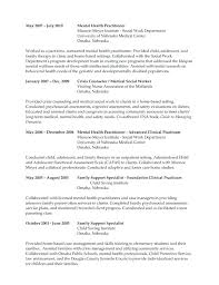 Mental Health Resume Examples Chronological Medical Worker Template Page 4 Rn