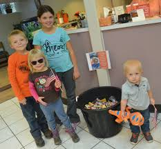 Operation Gratitude Halloween Candy by Craig Kids Show Gratitude By Donating 35 Pounds Of Candy To