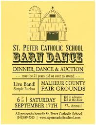 Barn Dance | St. Peter Catholic School Tragically Gone Barn Dance Venue Near Arthur Nd Lost To Fire Pizza Ranch Fundraiser Mzcs Music Department 22717 Mt Zion Best 25 Ideas On Pinterest Party Crossfitcoworkers Barbells For Boobs Holiday Dance Night In May Nicasio California Anise Leann Rockstar Angel Foundation Kghl Offers Fun A Great Cause Steamboattodaycom The Church Kew Barnkew Twitter Step Website
