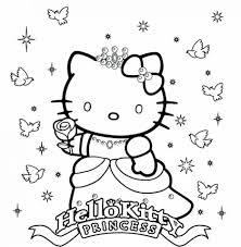 Coloring Pages Hello Kitty To Print