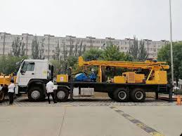 100 Truck Well China Mounted Full Hydraulic Water Mud Rotary Drilling