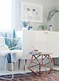 DIY Copper Pipe Himmeli Side Table