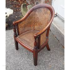 Victorian Mahogany And Cane Childs Chair - Antiques Atlas