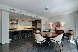 Dining Room Flooring Ideas Grey Hardwood Floors Open Plan Kitchen Tile