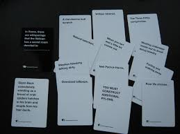 Ludlow Live Wire Cards Against Humanity