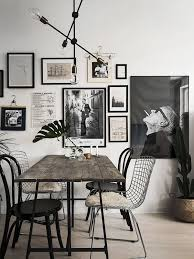Black Kitchen Table Decorating Ideas by Best 25 Dark Wood Dining Table Ideas On Pinterest Dinning