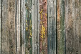 Painted Old Rustic Pine Wood Board Texture Background Stock Photo