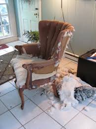 Cottage And Vine: How To Re-upholster A Chair When You Have No ... Last Year My Wonderful Inlaws Gave Us Two Wingback Recling My Lazy Girls Guide To Reupholstering Chairs A Tutorial Erin Best 25 Chair Upholstery Ideas On Pinterest Upholstered Chairs How Reupholster An Arm Hgtv Title Recovering The Ikea Tullsta Chairtitle Sew Woodsy Wingback Pink Finally Gets Diy How To Reupholster Chair Taylor Alyce Youtube Modest Maven Vintage Blossom Give Those Old Desk New Life 7 Steps With Pictures Aqua Chair Redo Tutorial How Reupholster A Tufted Fniture Upholster To Reupholstering An Armchair
