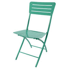 metal folding patio chair turquoise room essentials target