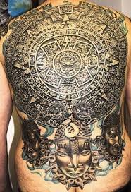 Less Abstract As Faces Of Mesoamerican Gods Are Tattooed Clear And Bolder Than Any Other Tribal Indigenous Cultures The Mayan Civilization Is