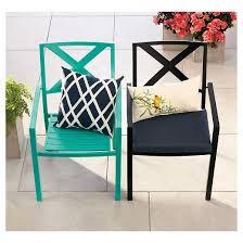 afton metal stacking chair turquoise threshold target