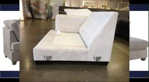 Poundex Bobkona Sectional Sofaottoman by Sectional Sofa Dimensions Youtube