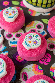 Easy Sugar Skull Day Of by Sugar Skull Chocolate Covered Oreo Cookies Young At Heart Mommy