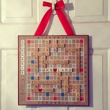 Scrabble Tile Value Change by Scrabble Door Decoration Very Simple And So Easy To Customize