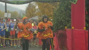 The Runaway Pumpkin by Hundreds Chase Pumpkins At Runaway Pumpkin Half Marathon 8k