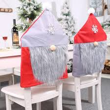 US $4.5 25% OFF Party Christmas Chair Cover Decoration Santa Claus Bearded  Table Red Hat Decor Dinner Seat Covers For The Kitchen Armchair On ... Us 429 New Year Party Decorations Santa Hat Chair Covers Cover Chairs Tables Chafing Dish And Garden Krush Linen Detroit Mi Equipment Rental Wedding Party Chair Covers Cheap Chicago 1 Rentals Of Chicago 30pcslot Organza 18 X 275cm Style Universal Cover For Sale Made In China Cute Children Cartoon Pattern Frozen Baby Birthday