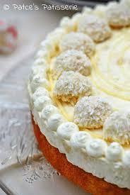 patce s patisserie kokos torte mit weißer schokolade aka
