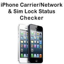 iPhone Carrier Check & Lock Unlock Status