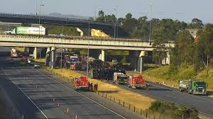 100 Truck Rollover Rollover Sparks Delays In Melbourne Daily Telegraph