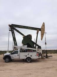 100 Bucket Truck Repair Pumping Unit Service Production Downhole Services Inc