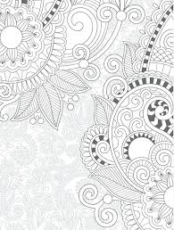 Free Online Coloring Pages For Adults Cats Floral Printable Web