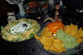 Puking Pumpkin Cheese Dip by The Ultimate Kids U0027 Halloween Party Planner