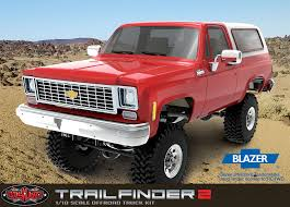 RC4WD Trail Finder 2 Truck Kit (No Body) Suits Blazer Body Set ...