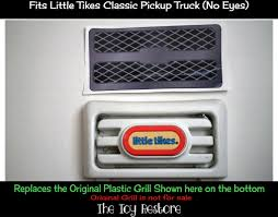 Replacement Grill Decal Little Tikes Pickup Cozy Truck Fix Repair ...