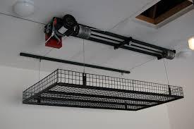 Garage Ceiling Kayak Hoist by Storage Ideas Unique Lift