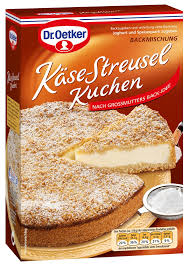 dr oetker käse streusel kuchen backmischung kaufen