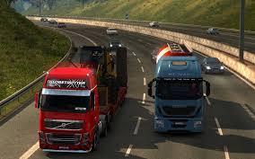 100 Euro Trucks Wallpaper Video Games Night Car Road Morning Sun Traffic