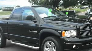 100 2003 Dodge Truck Ram SPORT Crew Cab 4dr 4x4 57 HEMI JET BLACK