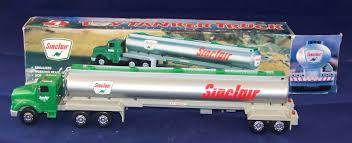 100 Toy Tanker Trucks Lot Detail 1996 Sinclair Truck
