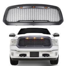 100 Ram Trucks 2013 LED Honeycomb Mesh Grille For Dodge 1500 2018