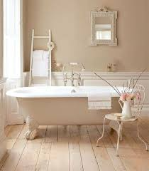 bad shabby chic pink metall stuhl klaue fuß badewanne