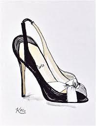 Drawn Heels Designer Shoe 7