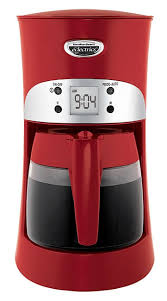 Hamilton Beach Eclectrics Moroccan Red Coffeemaker