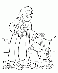 Sunday School Coloring Pages Forgiveness Home