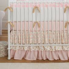 Coral And Mint Crib Bedding by Coral Crib Skirt Baby And Kids