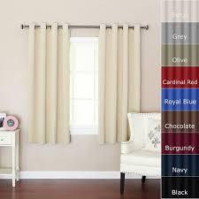 Royal Blue Curtains Walmart by Curtains Charming Short Blackout Curtains For Cool Window