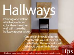 Paint Hallway Walls Different Colors To Make Them Feel Wider Could Work On Kitchen Too