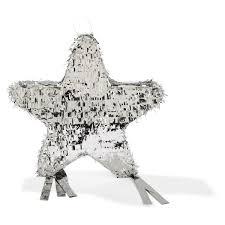 Kmart Christmas Tree Skirt by Silver Foil Star Pinata Kmart