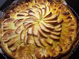 cuisine tarte aux pommes recette de tarte aux pommes normande par jesscuisto