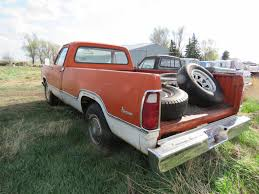 Lot 182M – 1973 Dodge D200 Pickup | VanderBrink Auctions