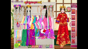 barbie chinese princess dress up full game play for girls hd
