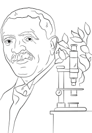 Click To See Printable Version Of George Washington Carver Coloring Page