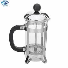 350ML French Coffee Maker Press Pot Tea Filter Glass Cafetiere Plunger Water Kettle Jug Home