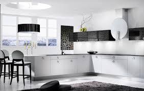 Black N White Kitchen Decor