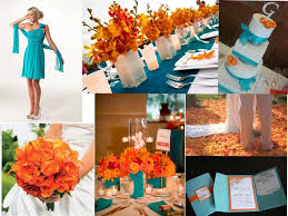 Coral Color Decorations For Wedding by Best 25 Orange Turquoise Wedding Ideas On Pinterest Teal Orange